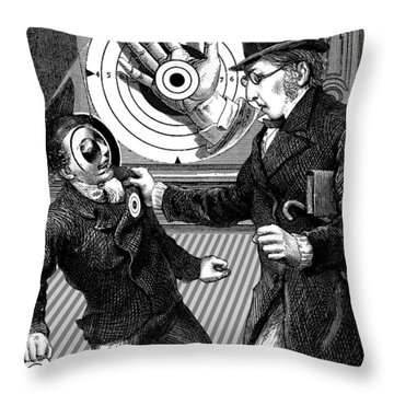 Subversive Targets Throw Pillow