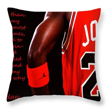 Success Quote 1 Throw Pillow