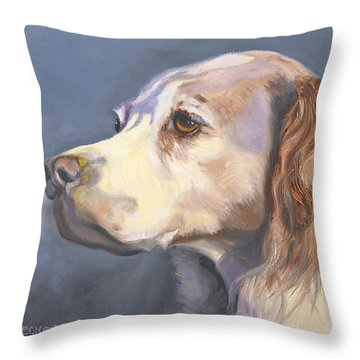 Such A Spaniel Throw Pillow