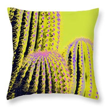 Throw Pillow featuring the photograph Such Is Socorro Boldness by Carolina Liechtenstein