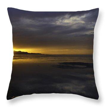 Sudden Glow Throw Pillow