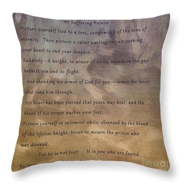 Sharon Knight Throw Pillows
