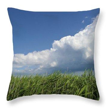 Suffolk Skies Throw Pillow