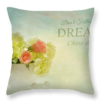Sugar And Spice With Message Throw Pillow