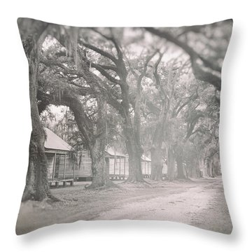 Sugar Cane Plantation Throw Pillow
