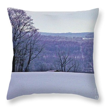 Throw Pillow featuring the photograph Sugar In The Hills by Christian Mattison
