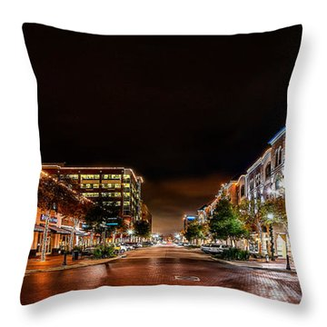 Sugar Land Town Square Throw Pillow