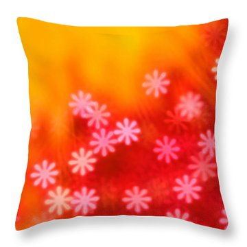 Sugar Magnolia Throw Pillow