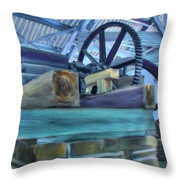 Sugar Mill Gizmo Throw Pillow