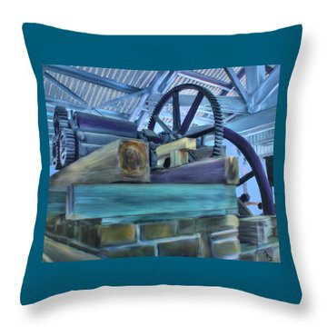 Sugar Mill Gizmo Throw Pillow