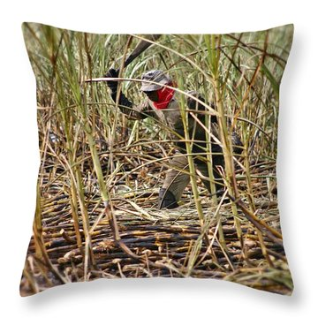 Throw Pillow featuring the photograph Sugarcane Slash 2 by Henry Kowalski