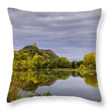 Sugarloaf Fall Of 2013 Throw Pillow