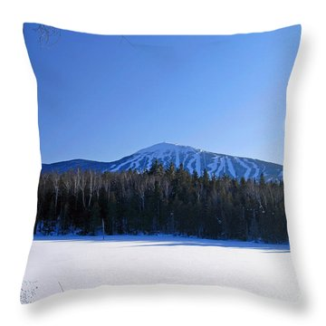 Sugarloaf Usa Throw Pillow by Alana Ranney