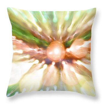 Throw Pillow featuring the photograph Suicide Blonde by Dazzle Zazz