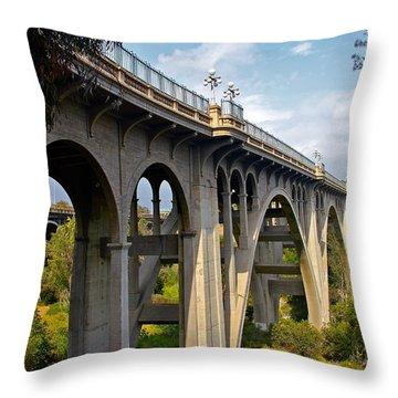 Suicide Bridge Throw Pillow