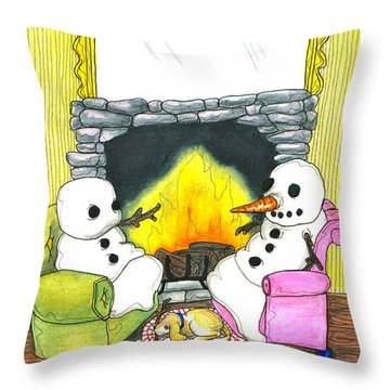 Suicide Pact Throw Pillow