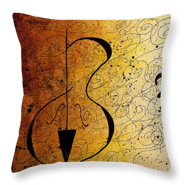 Suite No. 1 Throw Pillow by Carmen Guedez
