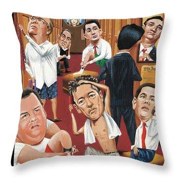 Suiting Throw Pillow