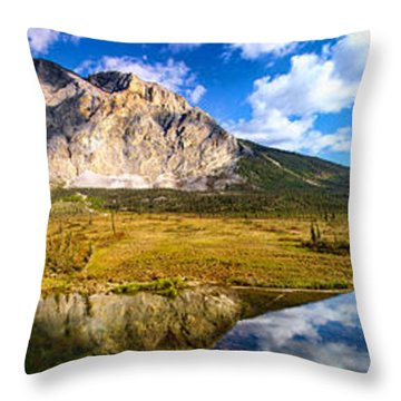 Sukakpak Reflection Throw Pillow