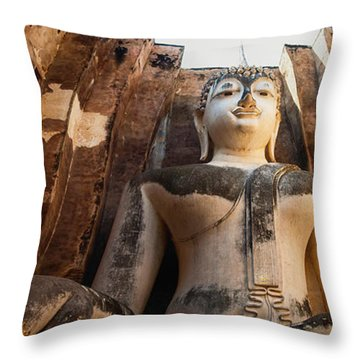 Sukhothai Throw Pillow by Tassanee Angiolillo