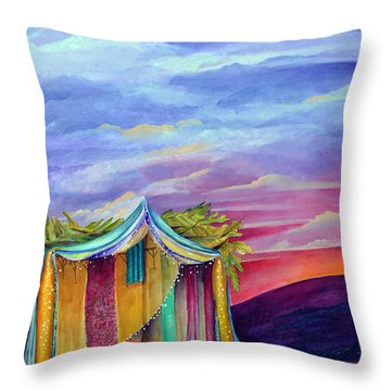 Sukkah Throw Pillow