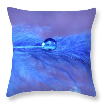 Sully Throw Pillow by Krissy Katsimbras