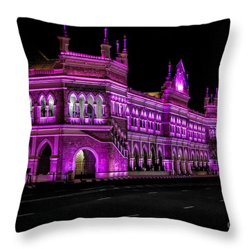 Sultan Abdul Samad Building Throw Pillow