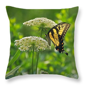 Sultry Summer Day Throw Pillow