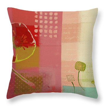 Summer 2014 - J103112106b Throw Pillow by Variance Collections