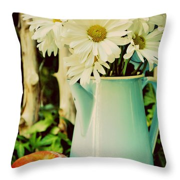 Summer Blend Throw Pillow