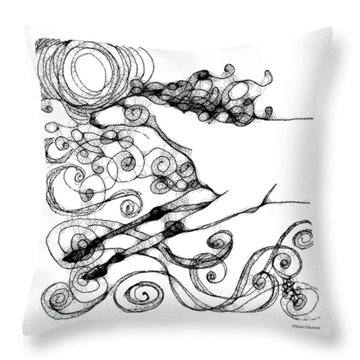 Summer Breeze Throw Pillow by Renee Forth-Fukumoto