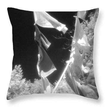 Summer Breezes Throw Pillow