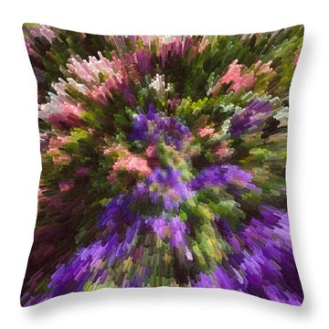 Summer Carpet Throw Pillow