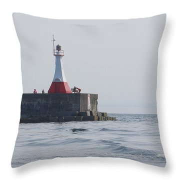 Throw Pillow featuring the photograph Summer Day by Marilyn Wilson