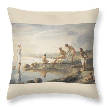 Seaweed Throw Pillows