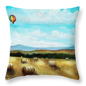 Summer Flight 3 Throw Pillow by Shana Rowe Jackson