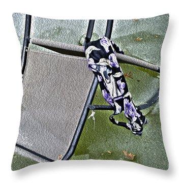 Summer Forgotten Throw Pillow