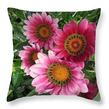 Summer  Full-blown Throw Pillow