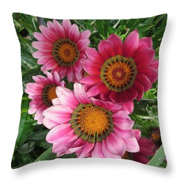 Summer  Full-blown Throw Pillow