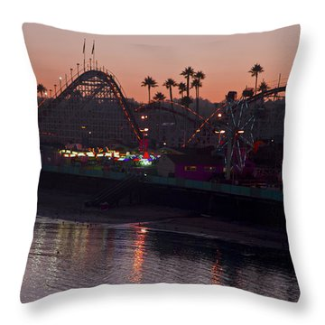Summer Fun 9195 Throw Pillow by Tom Kelly