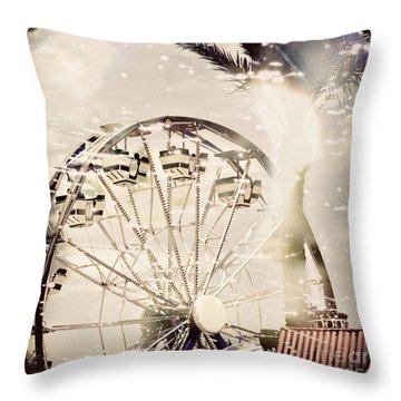 Throw Pillow featuring the photograph Summer Fun by Trish Mistric