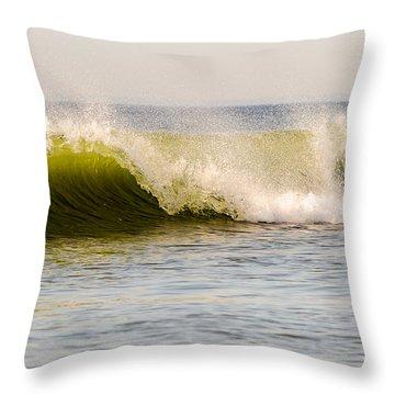 Summer Green Room Breaking Throw Pillow