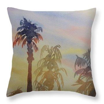 Summer Heat Throw Pillow