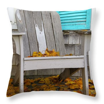 Summer Into Autumn Throw Pillow