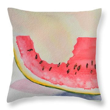 Summer Joy  Throw Pillow by Warren Thompson
