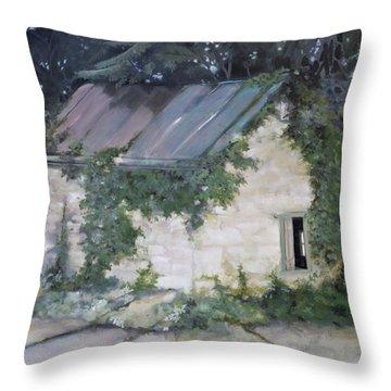 Summer Kitchen Throw Pillow by Rebecca Matthews