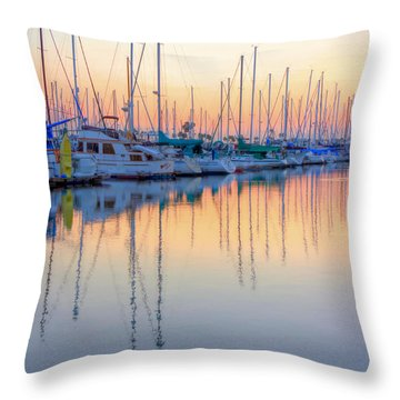 Summer Light Throw Pillow by Heidi Smith