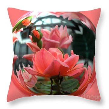 Summer Love Throw Pillow by Renee Trenholm