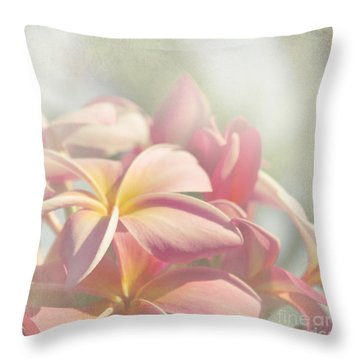 Summer Love Throw Pillow by Sharon Mau