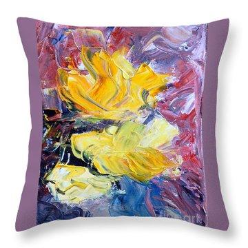 Summer Love Throw Pillow by Teresa Wegrzyn